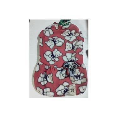 Vestido Pet Basico Soft , Tam. M.brazilian Vip's