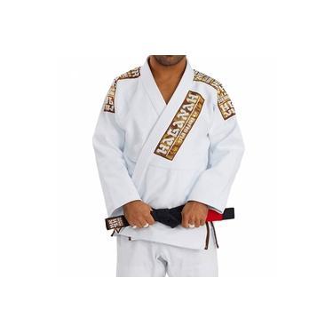 Kimono Jiu Jitsu Haganah Kimonos Combat Light A1 Branco