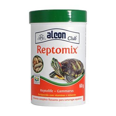 Ração Para Tartarugas Alcon Reptomix 60g