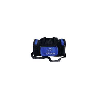 Imagem de Bolsa sacola bordo mao mala de viagem pequena azul