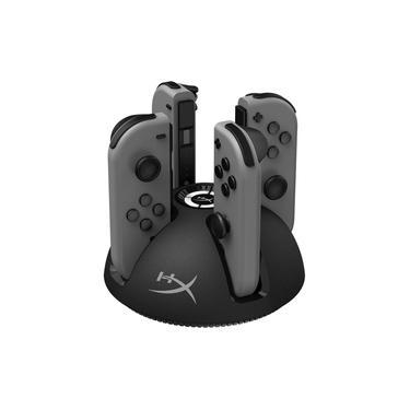 ChargePlay Quad HyperX Carregador para Controle Joy Com Nintendo Switch, 4 Portas - HX-CPQD-U