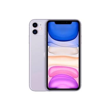 "iPhone 11 Apple (64GB) Lilás Tela 6,1"" Câmera 12MP iOS"