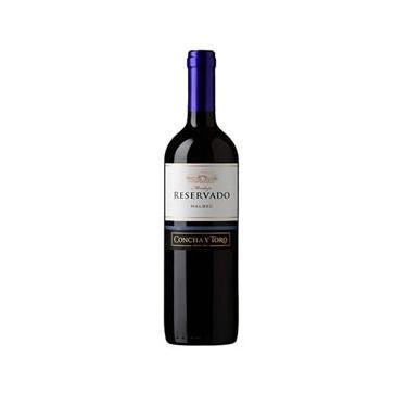 Vinho Reservado Concha Y Toro Malbec 750 Ml Tinto - Chile