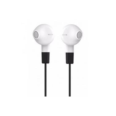 Fone De Ouvido Economico Compativel Motorola Earbuds Branco