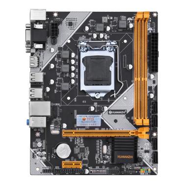 HUANANZHI H61 Placa-mãe M-ATX para Intel LGA 1155 Suporte i3 i5 i7 DDR3 1333/1600 MHz 16GB SATA2.0 USB2.0 VGA + HDMI Banggood