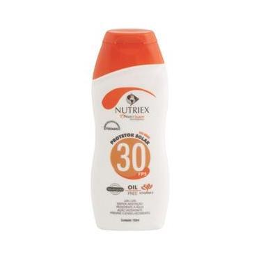 Protetor solar FPS 30 120 ml - Nutriex