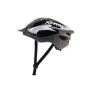 Capacete para Ciclismo Bike Átrio Mtb 2.0 com Viseira Preto e Branco Tamanho G - BI159