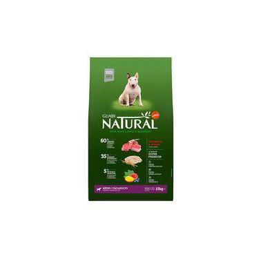 Ração Guabi Natural Raças Médias Cordeiro E Aveia - 15kg