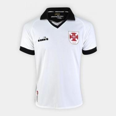 Camisa Vasco III 19/20 s/nº Torcedor Diadora Masculina