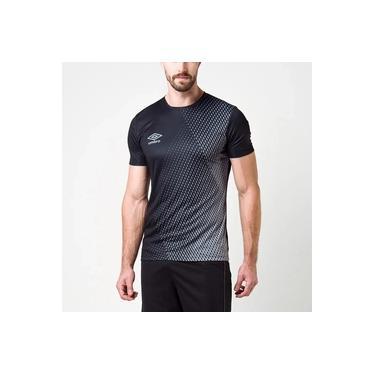 Camiseta Umbro Twr Graphic Velocita Preta Masculina