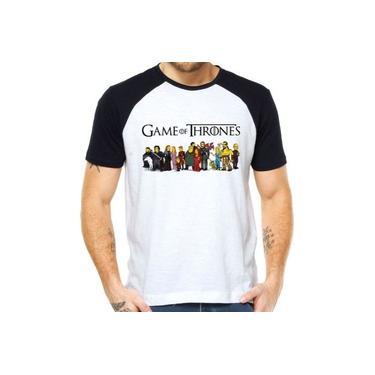 Camisetas Game Of Thrones Os Simpsons Séries Got Bart Séries