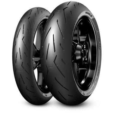 Pneu Pirelli Diablo Rosso Corsa 2 180/55-17 + 120/70-17 Combo