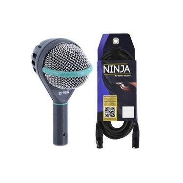Microfone AKG D112 Para Bumbo + Cabo