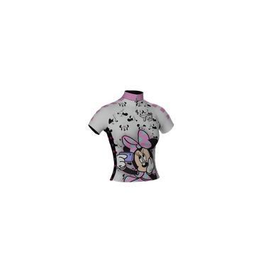 Camisa Ciclismo Ciclista Bike Roupa Uniforme Adulto Minnie
