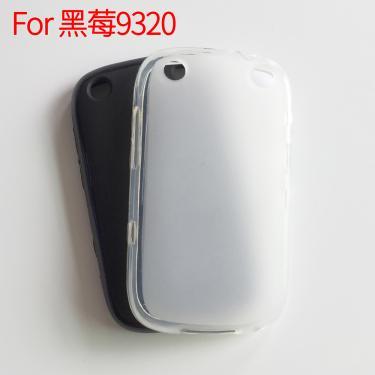 Para blackberry curve 9320 caso tpu silicone macio capa de proteção traseira caixa do telefone