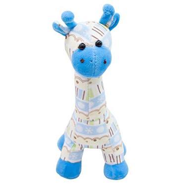 Imagem de Girafa Azul Em Pé 22cm - Pelúcia