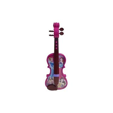 Imagem de Violino Musical Infantil Com Luz - Princesas Disney - Toyng