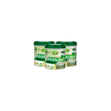 Imagem de Matcha - Chá Verde - Solúvel 220G Kit Com 3