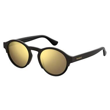 Imagem de Óculos Havaianas Caraiva Preto/dourado
