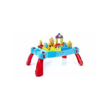 Imagem de Fisher Price Mega Blocks Mesa Portatil de Construção - Mattel