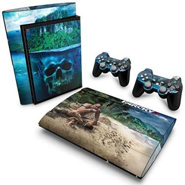 Skin Adesivo para PS3 Super Slim - Far Cry 3