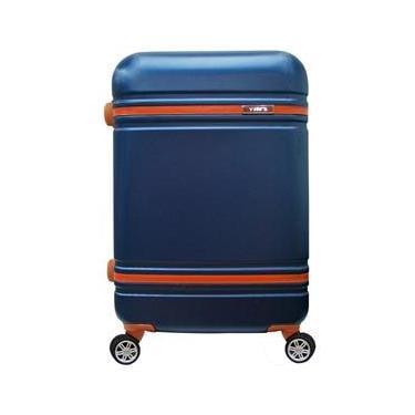 Mala de Viagem Pequena Yins Brasil YS21068A-P com Rodas Giro 360° em ABS - Azul