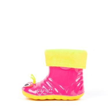 Imagem de Bota De Borracha Gasf Galocha Cano Médio Impermeável Infantil Rosa  feminino