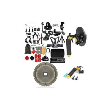 Kit Com Acessórios E Suportes Componentes Para GoPro Hero 5 Hero 6 Hero 7 Black Gopro 2018 Gopro 4K Sports