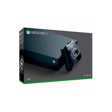 Console Xbox One X 1TB 4K+ Controle sem Fio