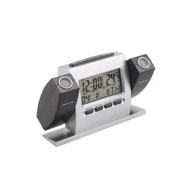 Imagem de Relógio De Mesa Digital Despertador projetor duplo