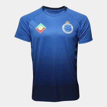 b1ccae4b18 Camisas de Times de Futebol Casuais Cruzeiro Masculino