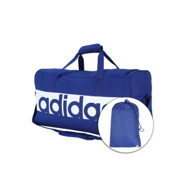 f943aca69 Bolsa de Viagem / Esportiva Adidas Azul Centauro | Moda e Acessórios ...
