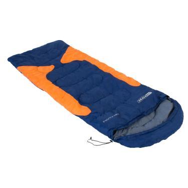 Saco de Dormir Freedom -1,5° a -3,5° Nautika Azul e Laranja