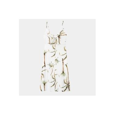 Imagem de Vestido Feminino Midi Crepe - Lunender - 37995 - Branco Off White