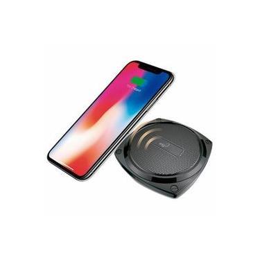 Carregador Indução Sem Fio Elg WQ1BK Samsung S6 S7 S8 iPhone 8 9 x