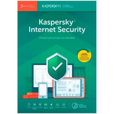 Kaspersky Internet Security Multidispositivos - Licença de 1 ano - para 3 Dispositivos - Versão Down