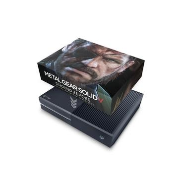 Capa Anti Poeira para Xbox One Fat - Metal Gear Solid V