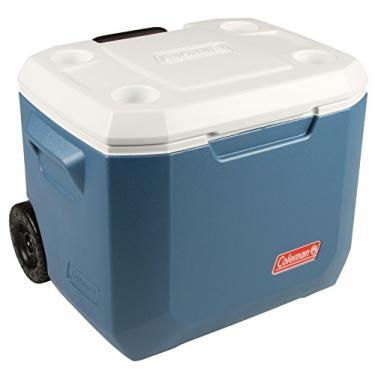 Caixa Térmica 50qt / 47,3 L Xtreme C/rodas Coleman Azul