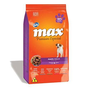 Ração Max Mature Frango e Arroz para Cães com mais de 7 anos- 15 Kg