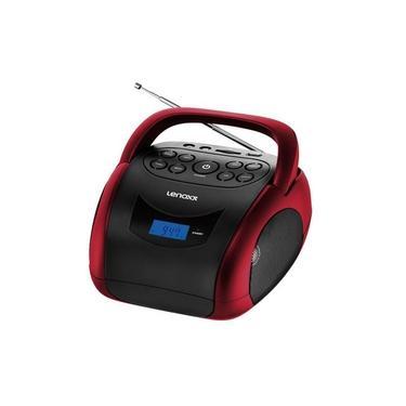 Som portátil Lenoxx BD150 Boombox Bluetooth Bivolt