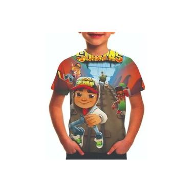 Camiseta Subway Surf Ref 038 Estampa Total Infantil