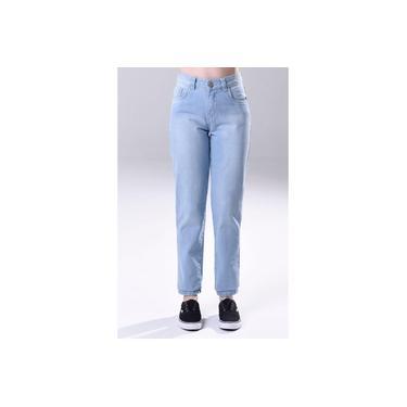 Calça Mom Jeans Algodão