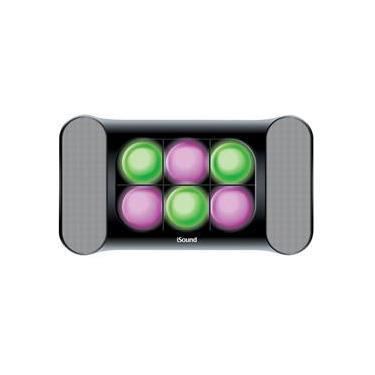 Sistema de som e luzes iGlowSound áudio auxiliar ISOUND