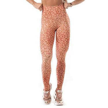 Legging Let'sgym Neo Basic Coral - P