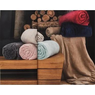 Imagem de Cobertor Flannel Cashemere Loft - Cobertores Parahyba