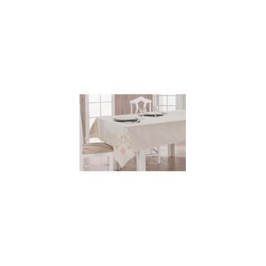 Imagem de Toalha De Mesa retangular 6 Lugares 2,20x 1,40m Bordada