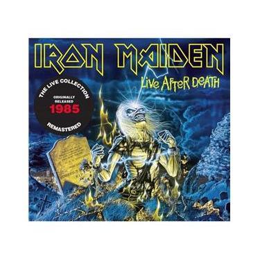 Imagem de CD Duplo Iron Maiden Live After Death REMASTERED DIGIPACK