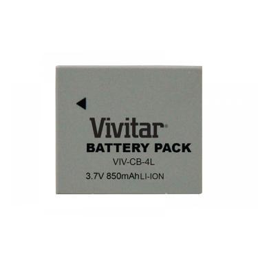 Bateria recarregável equiv Canon modelo NB4L Vivitar VIVCB4L