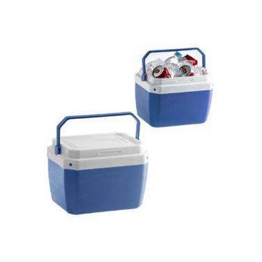 Imagem de Caixa Termica Cooler Porta Latas Pequena 6 Litros