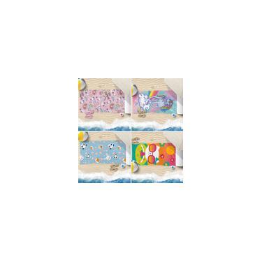 Imagem de Kit 4 Toalhas De Praia 60Cm X 1,10M Infantil Anti Areia Meninas - Bene Casa
